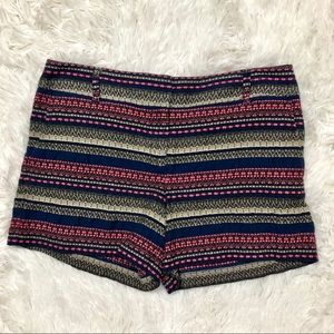 Ann Taylor Loft size 6 embroidered Riviera Shorts